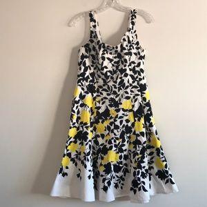 Nine West Cotton Fit & Flare Dress, 10